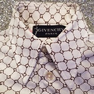 Legally Blond Vintage Givenchy Monogram Blouse